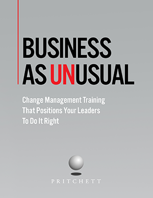 change management training brochure