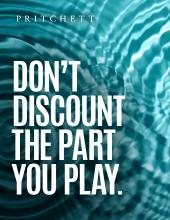 Don't Discount The Part You Play