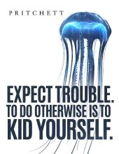 Expect Trouble To Do Otherwise Is To Kid Yourself
