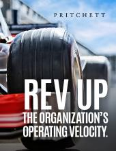 Rev Up The Organization's Operating Velocity