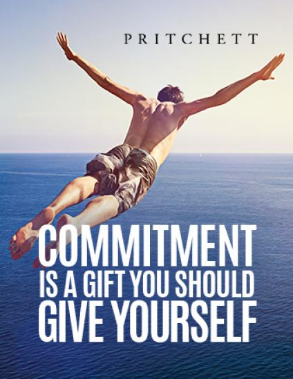 Commitment Is A Gift You Should Give Yourself