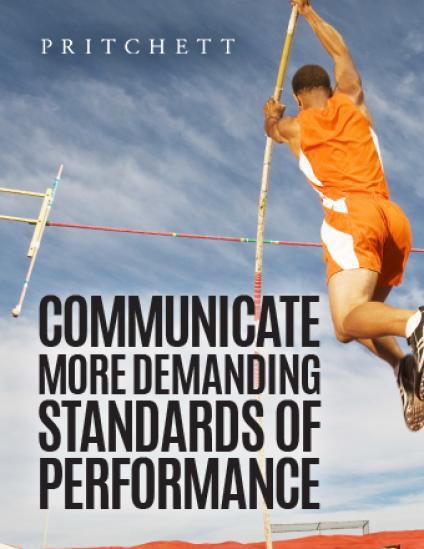 Communicate More Demanding Standards Of Performance