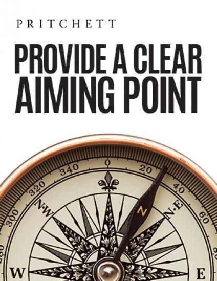 Provide A Clear Aiming Point