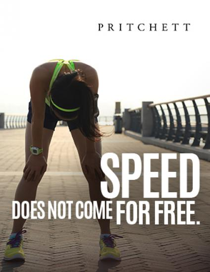 Speed Does Not Come For Free